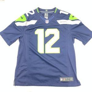 Seattle Seahawks Official 12th Man Fan Jersey L